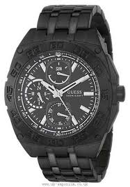 guess top brands watches luxury watches discount hermes guess black ion plated bracelet mens watch 1614877