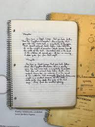 louis jenkins poetry notebook