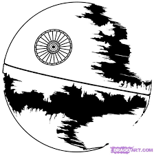 Small Picture death star coloring page Coloring Pages Ideas