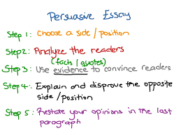 persuasive essay english showme