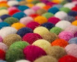 felt ball rugs