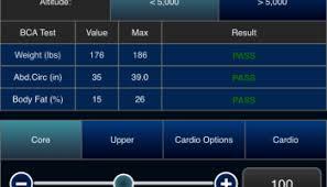 New 2011 Pfa Calculator Us Navy Prt