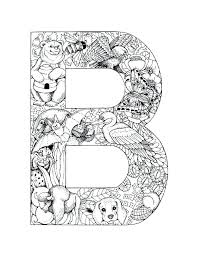 Small Picture Coloring Pages Of Letters In The Alphabet Corresponsablesco