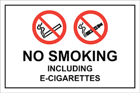 No Smoking Signage Allsigns International Ltd No Smoking Including E Cigarettes