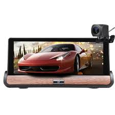 <b>7 inch</b> for android 5.0 hd car dvr gps dual lens navigation rear view ...