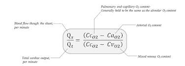 normal shunt equation