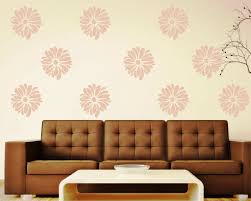 wonderful wall decal quotes living room brown fabric arms sofa pink flower pattern wall decal white brown fabric lighting