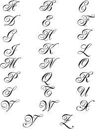 fancy script name monogram wall decals