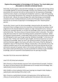 katekatekate s shop teaching resources tes edexcel a level english literature dr faustus level 5 essay opening
