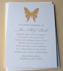 Personalized Sympathy Thank You Cards Personalized Funeral Thank You Cards Tirevi Fontanacountryinn Com