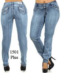 wholesale plus size jeans colombian style butt lifting jeans plus size