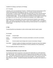 guidelines for writing the drosophila genetics lab report scored 5 pages writing a lab report in ap biology