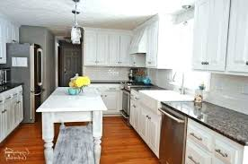white kitchen counter. Plain Kitchen Wall Mounted Kitchen Counter White Themes Using Brown  Wooden Unfinished Also Diy Throughout