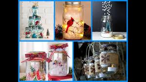 Glass Jar Decorating Ideas Top100 Christmas Mason Jar Craft Ideas YouTube 89