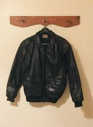 vintage banana republic leather jacket
