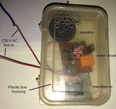 homemade melody doorbell circuit diagram diy homemade melody door bell