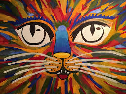 Easy Painting Easy Painting A Cat Speed Video Youtube