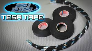 tesa tape now in stock at mobile solutions! youtube friction tape wiring harness at Tesa Wire Loom Harness Tape