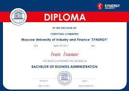 Мегакампус Дипломы bachelor of business administration Бакалавр Делового Администрирования