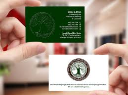 Finger Drain Design Traditional Serious Legal Business Card Design For Law