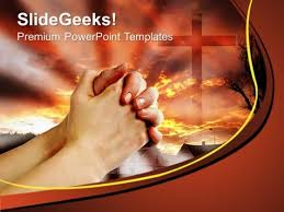 Christian Templates Prayer Christian People Powerpoint Templates And Powerpoint