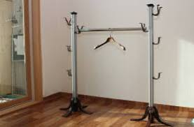 How To Build A Standing Coat Rack Sell DIY Free Standing Heavy Duty Coat RackChrome ALTid100 13