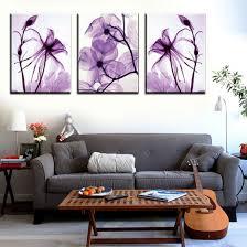 Modern Wall Paintings Living Room Amazoncom Hot Sell 3 Panels 40 X 60 Cm Modern Wall Painting Blue