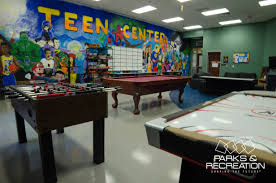 Teen center the community helping