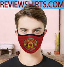 Logo Manchester United F.C Face Mask (flashship in the USA)