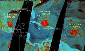 nasa form 1018 passive microwave views of hurricanes irma jose and katia nasa