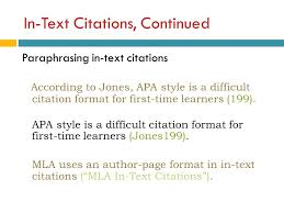 Apa Citation In Text Apa Format In Text