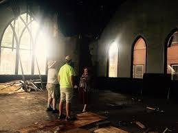 leaning chapel in sheffield has new