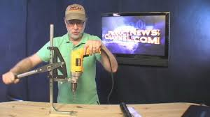 portable drill press strong arm 5 news channel tool review gadget you