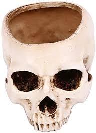 <b>Halloween Scene Decoration Skull</b> Head Flower Pots,Skull Shaped ...