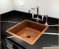 Bar Sink Design Handmade Custom Copper Bar Prep Sink By Havens Metal