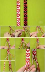 how to make heart friendship bracelet