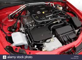 2006 Mazda MX-5 Miata Grand Touring in Red - Engine Stock Photo ...