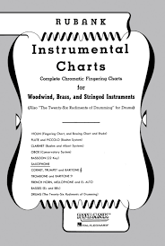 Mellophone Finger Chart Printable Amazon Com Rubank Publications Rubank Fingering Charts