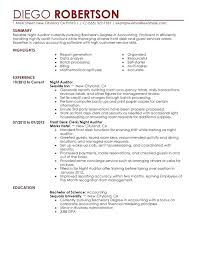 Correct Format Of A Resume Resume Template Ideas