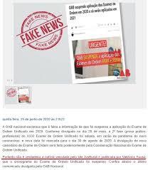 OAB rebate fake news e garante que continua com o Exame de Ordem em 2020 -  Blog Exame de Ordem - Concurso Público, Concurso Jurídico, OAB,Exame de  Ordem,Curso Online