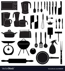 kitchen tools vector. Modren Tools Kitchen Tools For Cooking Vector Image With Tools Vector L