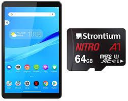 Buy <b>Lenovo</b> Tab M8 (2GB, 32GB, WiFi, Platinum Grey) + Strontium ...