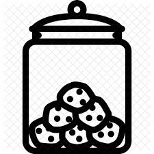 cookie jar clipart black and white. Picture Transparent Library Cookie Jar Clipart Black And White Candy Shop Cafe Candies With