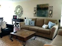 above couch decor over the stunning wall brown behind decoro great decorating wal