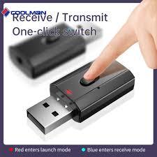 New  <b>T7</b>-<b>5 Bluetooth</b> 5.0 HiFi Audio Receiver Transmitter USB 3.5 ...