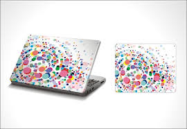 decorate your laptop with stickers decoration for home