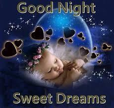 cute good night sweet dreams e