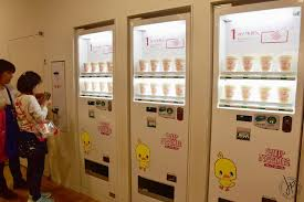 Noodle Vending Machine For Sale Awesome Personalized Cup Noodles At Momofuku Ando Instant Ramen Museum