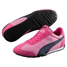 puma 76 runner womens. puma 76 runner jersey womens sneakers 361643-01 beetroot purple-peacoat