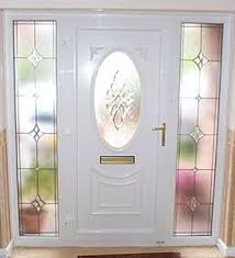 door with beveled side panels front and back doors